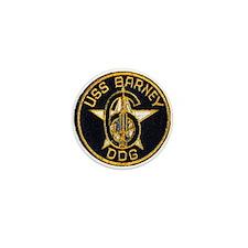 USS BARNEY Mini Button