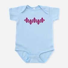 Pink Mosaic Fleur Infant Bodysuit