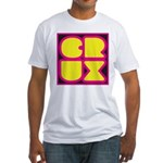 Crux Bright Logo Fitted T-Shirt