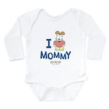 Baby ODIE, Heart Mommy, Long Sleeve Infant Bodysui