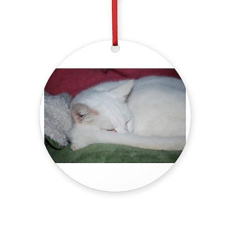Sugar's Nap Ornament (Round)
