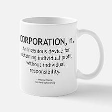 Corporation Defined Mug