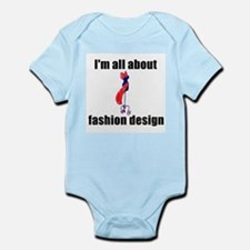 I'm All About Fashion Design! Infant Creeper