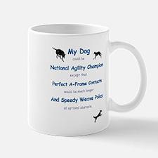 Agility Humor Mug