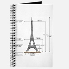 Dimensions of Eiffel Tower Journal