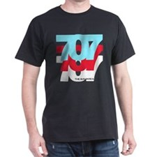 707 - Black T-Shirt