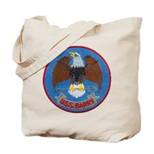 USS BARRY Tote Bag