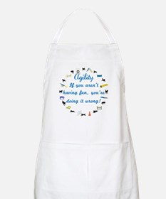 Have Fun in Agility Apron