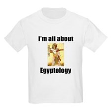 I'm All About Egyptology! Kids T-Shirt