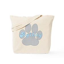 Agility Paw Tote Bag
