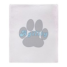 Agility Paw Throw Blanket