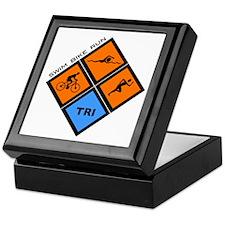 Tri Diamond Keepsake Box