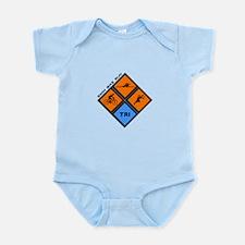 Tri Diamond Infant Bodysuit