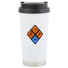 Tri Diamond Stainless Steel Travel Mug