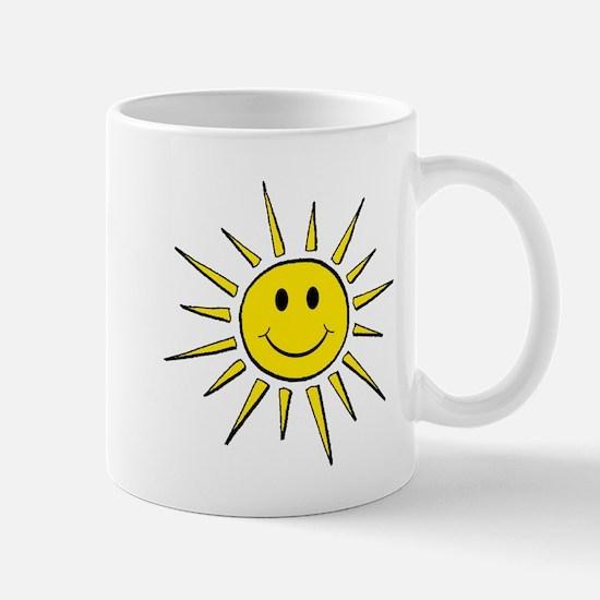 Smile Face Sun Mug