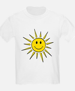 Smile Face Sun T-Shirt