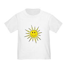 Smile Face Sun T