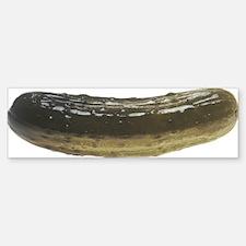 Solitary Pickle Bumper Bumper Sticker