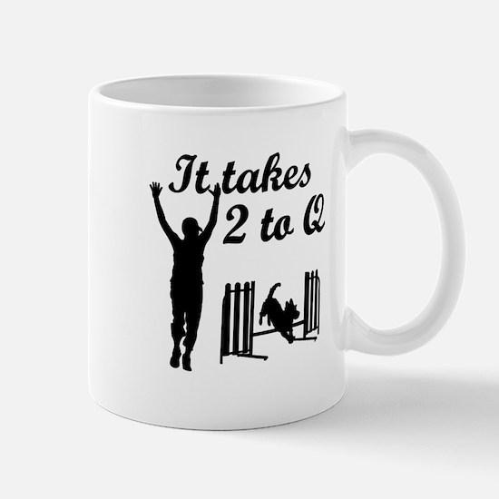 It Takes 2 to Q Mug