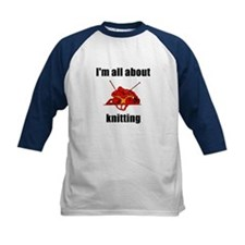 I'm All About Knitting! Tee