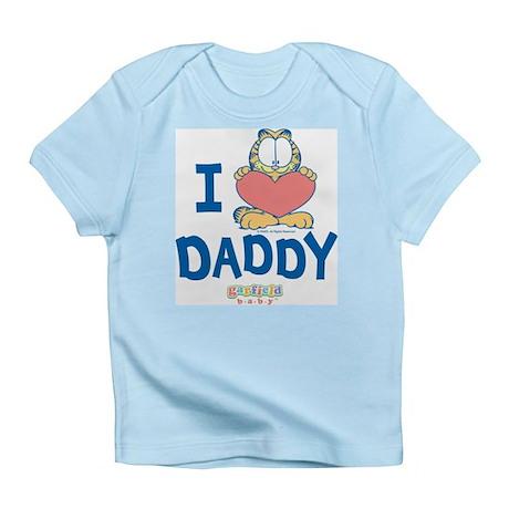 "Baby Garfield ""Heart Daddy"" Infant T-Shirt"