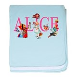 Alice in wonderland Blanket