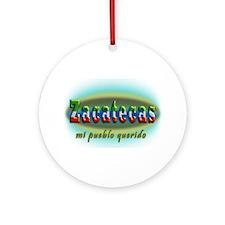 Pueblo Querido Ornament (Round)