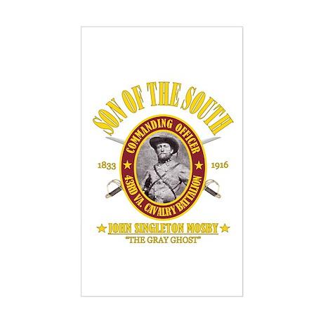 John S Mosby (SOTS) Sticker (Rectangle)