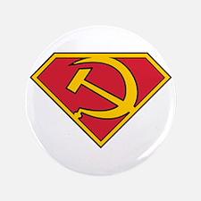 """Communist Hero 3.5"""" Button"""