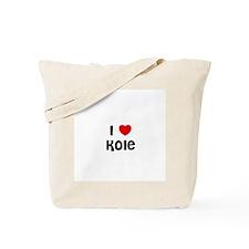 I * Kole Tote Bag