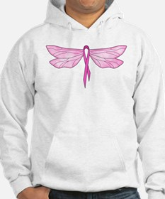 Breast Cancer Dragonfly Hoodie