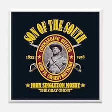 John S Mosby (SOTS) Tile Coaster