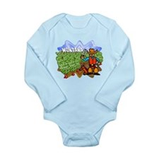 Montana Long Sleeve Infant Bodysuit