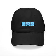 Swim Bike Run Baseball Hat