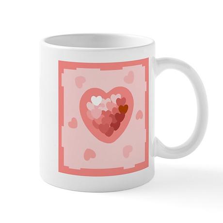 HEART {26} : lt pink Mug