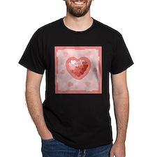 HEART {26} : lt pink T-Shirt