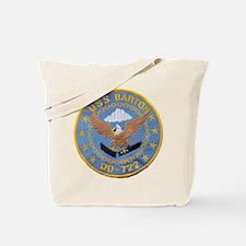 USS BARTON Tote Bag