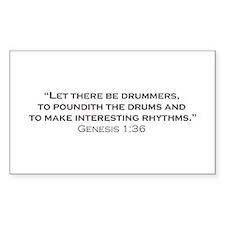Drummer / Genesis Decal