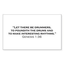 Drummer / Genesis Stickers