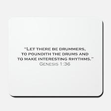 Drummer / Genesis Mousepad