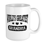 World's Greatest Grandma Large Mug