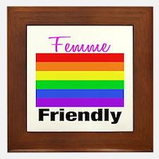 Femme Friendly Framed Tile