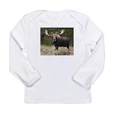 Moose Mania Long Sleeve Infant T-Shirt