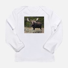 Moose Mania Long Sleeve Infant T-Shirt