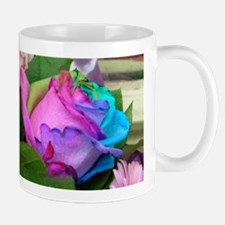 Mug - Unique Multi-Colored Rose