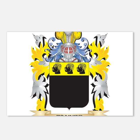 Tanner Family Crest - Coa Postcards (Package of 8)