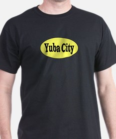 Yuba City, California Black T-Shirt