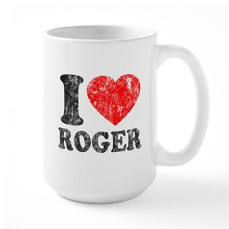I (Heart) Roger Large Mug