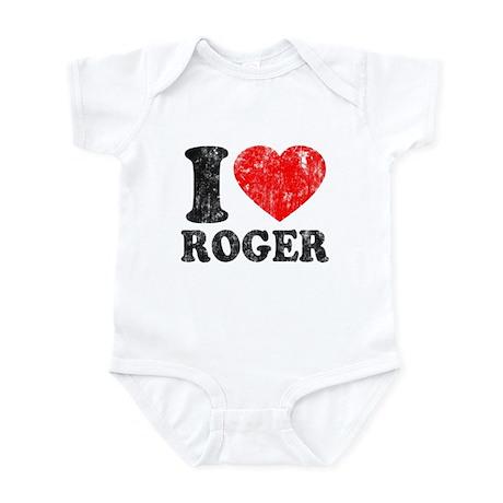 I (Heart) Roger Infant Bodysuit