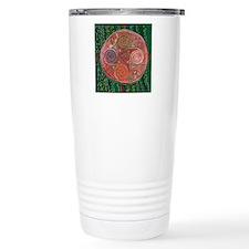 Neolithic Mandala Travel Mug